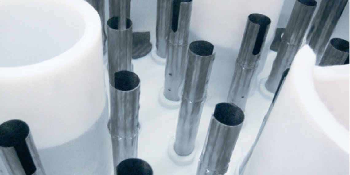 Drip tubes made out of Tantalum